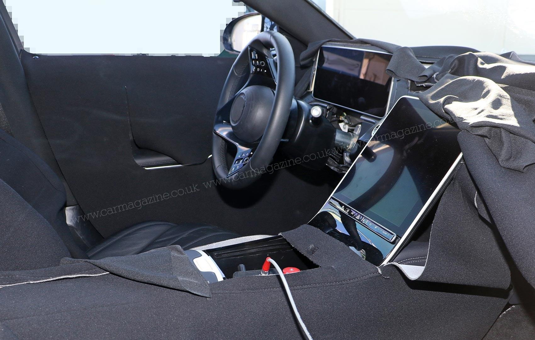 new mercedes benz s class spy photos car magazine. Black Bedroom Furniture Sets. Home Design Ideas
