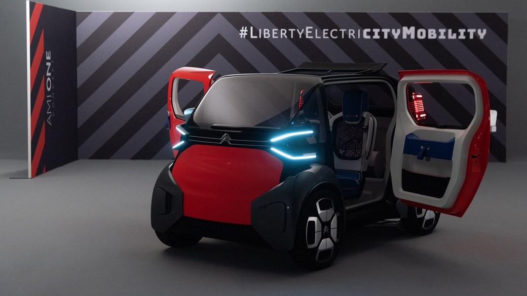Citroen Ami One concept: dinky concept is mobility problem solver