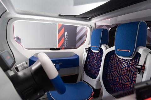 Citroen Ami One seats