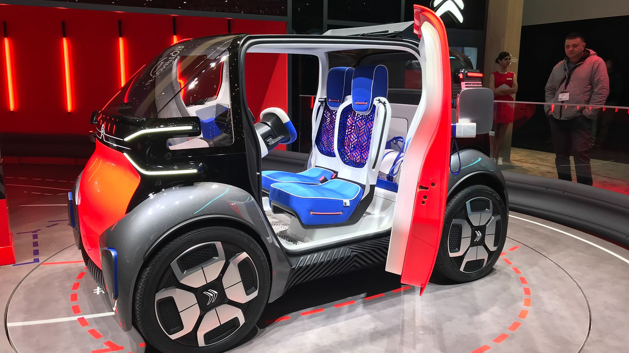 Citroen Ami One concept: dinky concept is mobility problem ...