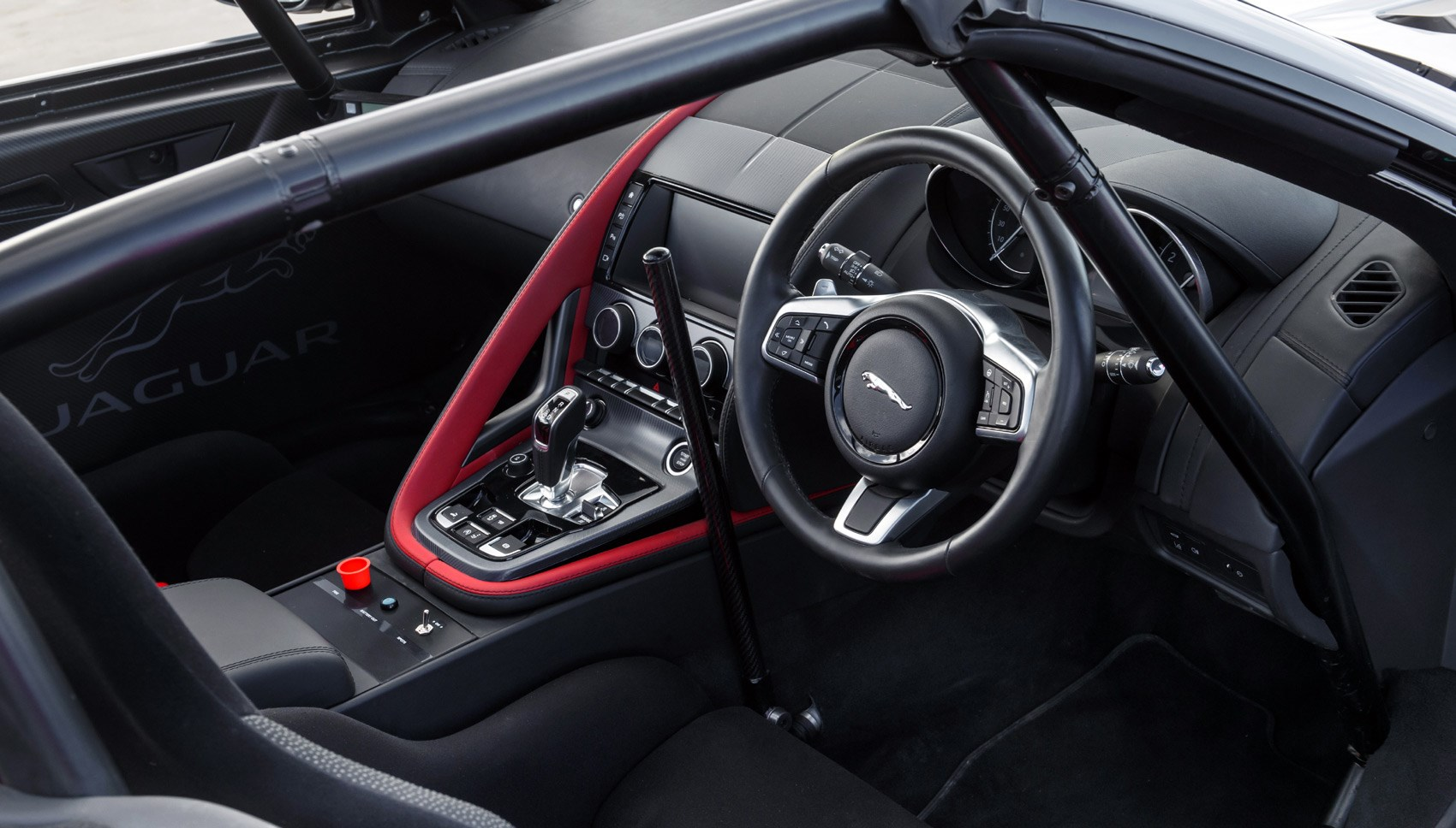 F-Type rally interior