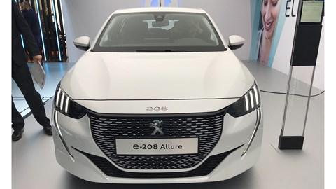 Peugeot e-208 at Geneva 2019