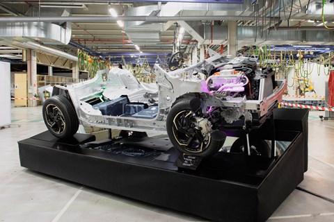 Peugeot 208 e-cmp platform