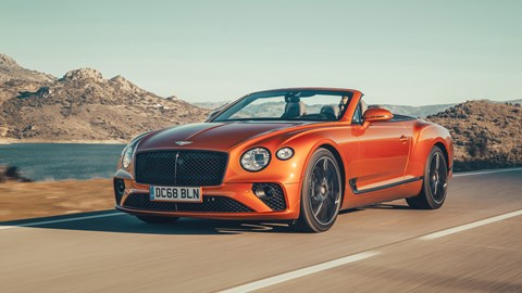 Bentley Continental Gt Convertible 2019 Review The Last