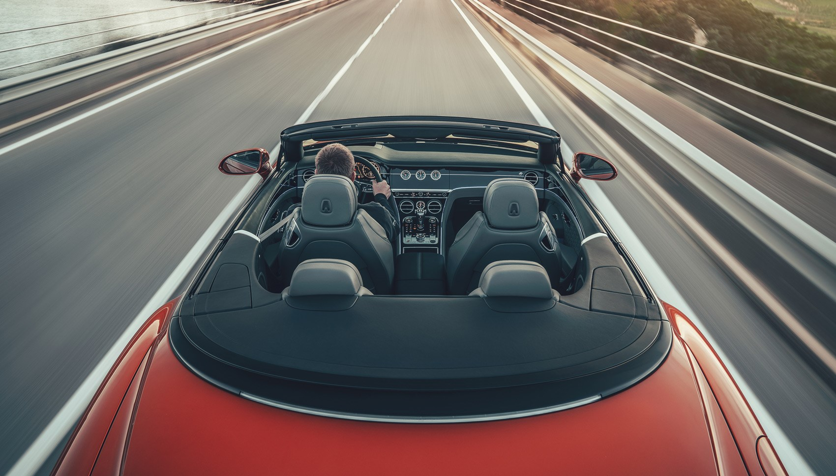 Bentley Continental GT Convertible overhead
