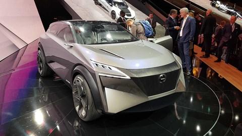 Nissan IMQ concept at Geneva 2019