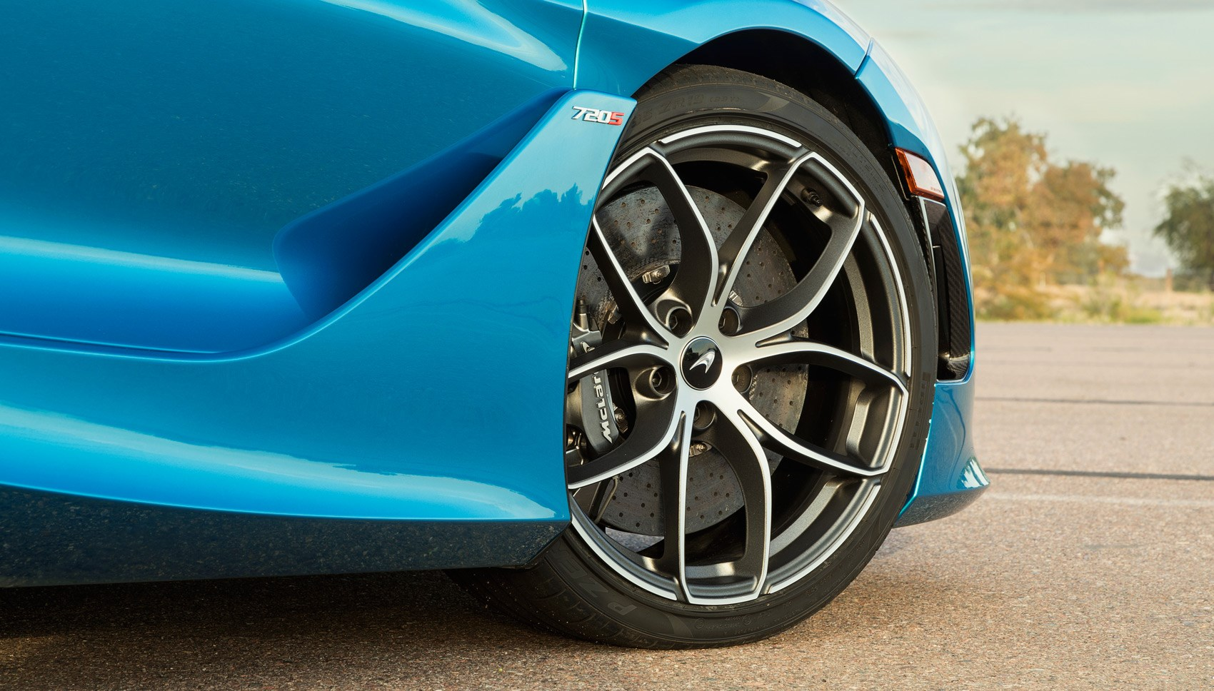 720S Spider wheel
