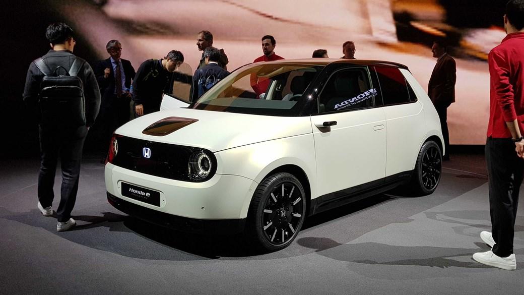 Honda e Prototype at Geneva 2019