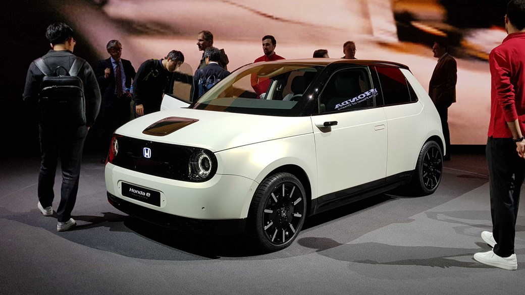 Honda E Prototype At Geneva 2019