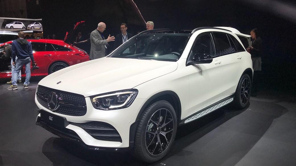 Mercedes-Benz GLC at Geneva 2019
