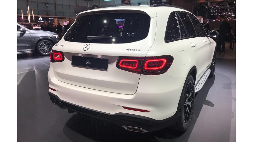 Mercedes-Benz GLC at Geneva 2019 - rear view