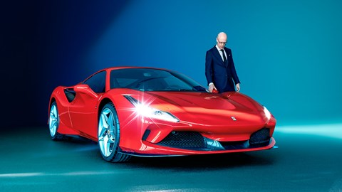 Ferrari F8 Tributo and CEO