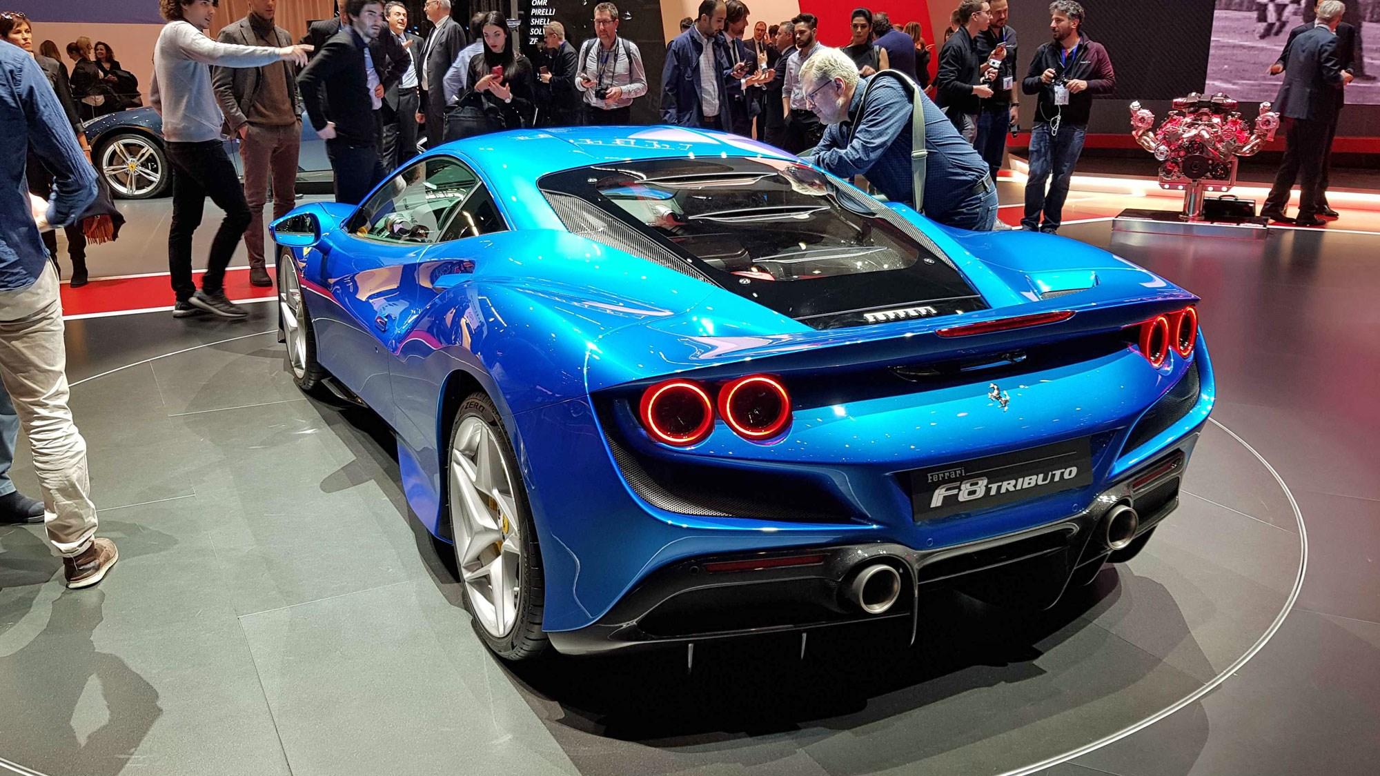 Ferrari F8 Tributo Maranello Fights Back Car Magazine