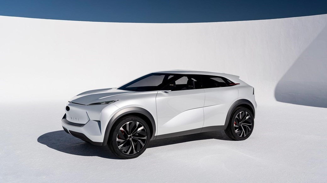 Nissan S Upmarket Premium Wing Infiniti Has Pledged To Launch Electrified Cars By 2021 This New Ev Concept Car Above Is Pointer What You Can Expect