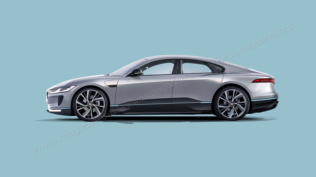 The Polarising Xj Luxury Saloon Is Due For Replacement In 2019 And Car S Moles Suggest Its Successor Will Be A Pure Electric Traditionally Has