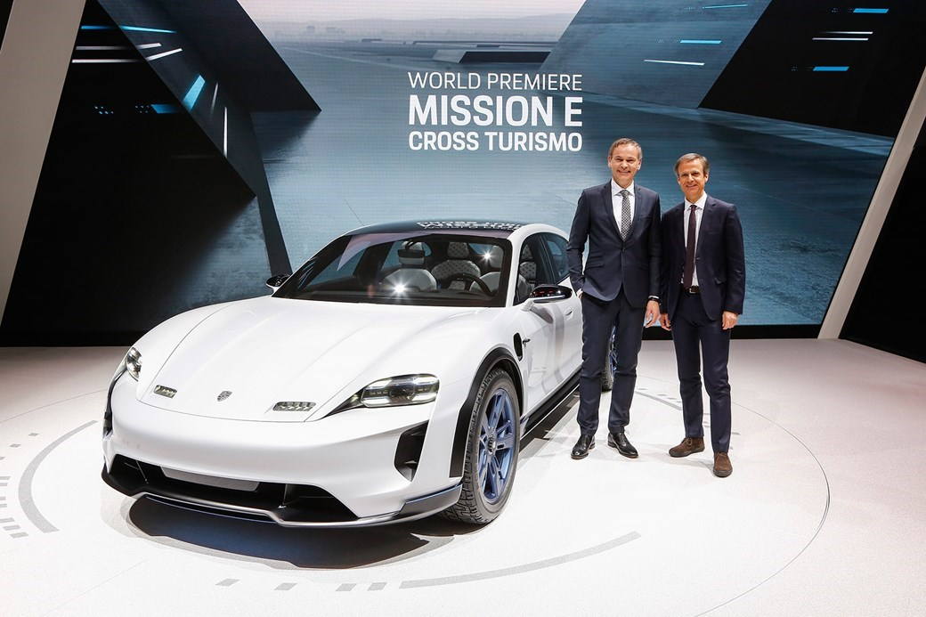 Porsche Has Revealed The New Mission E Cross Turismo Will Be Entering Series Production And It Ll Second All Electric Ev From Stuttgart