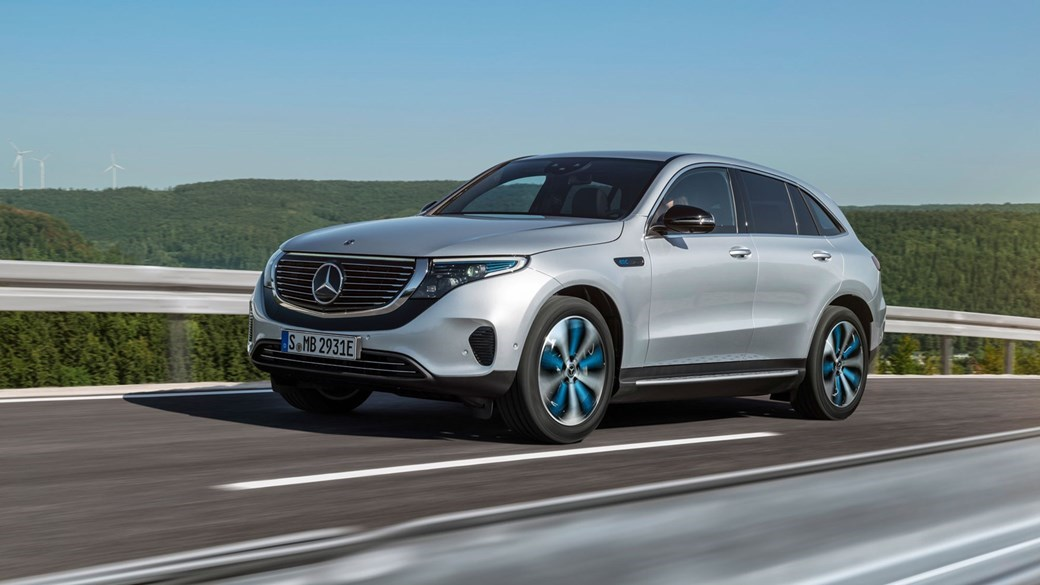 Mercedes Benz Is Busy Preparing A New Range Of Electric Cars Developed Under The Eq Banner First Model Will Be Eqc Suv Unveiled In Autumn