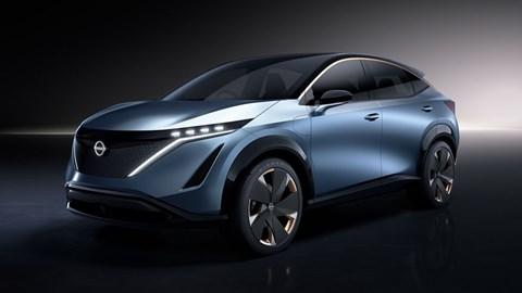 The Nissan Ariya EV