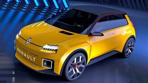 Yellow Renault 5 concept