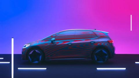 The new Volkswagen ID.3 EV