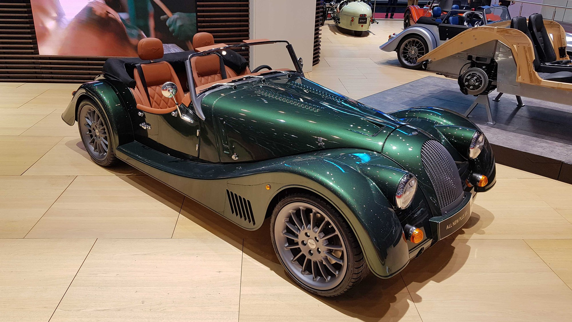 Modernist Mog: new Morgan Plus Six revealed as company sold