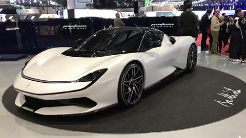 Pininfarina Battista at Geneva 2019