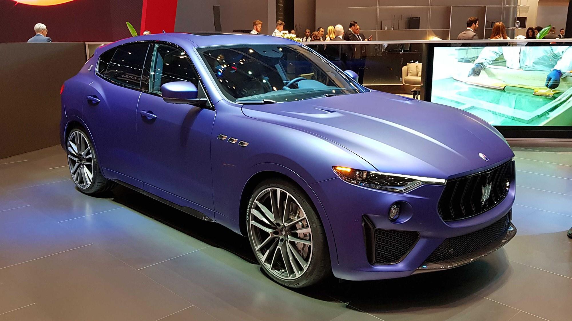 Maserati Levante Trofeo: V8 SUV Roars In