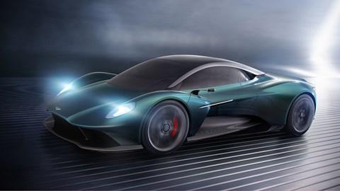 Aston Martin Vision Vanquish concept at 2019 Geneva motor show