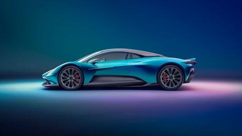 Aston Martin Vanquish, side profile