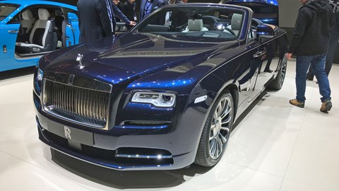 Rolls-Royce launches Bespoke programme at Geneva 2019 - Dawn Geneve 2019 front view