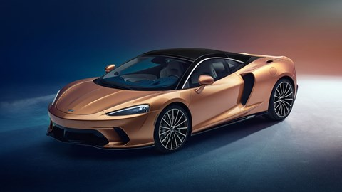 The front of the new McLaren GT
