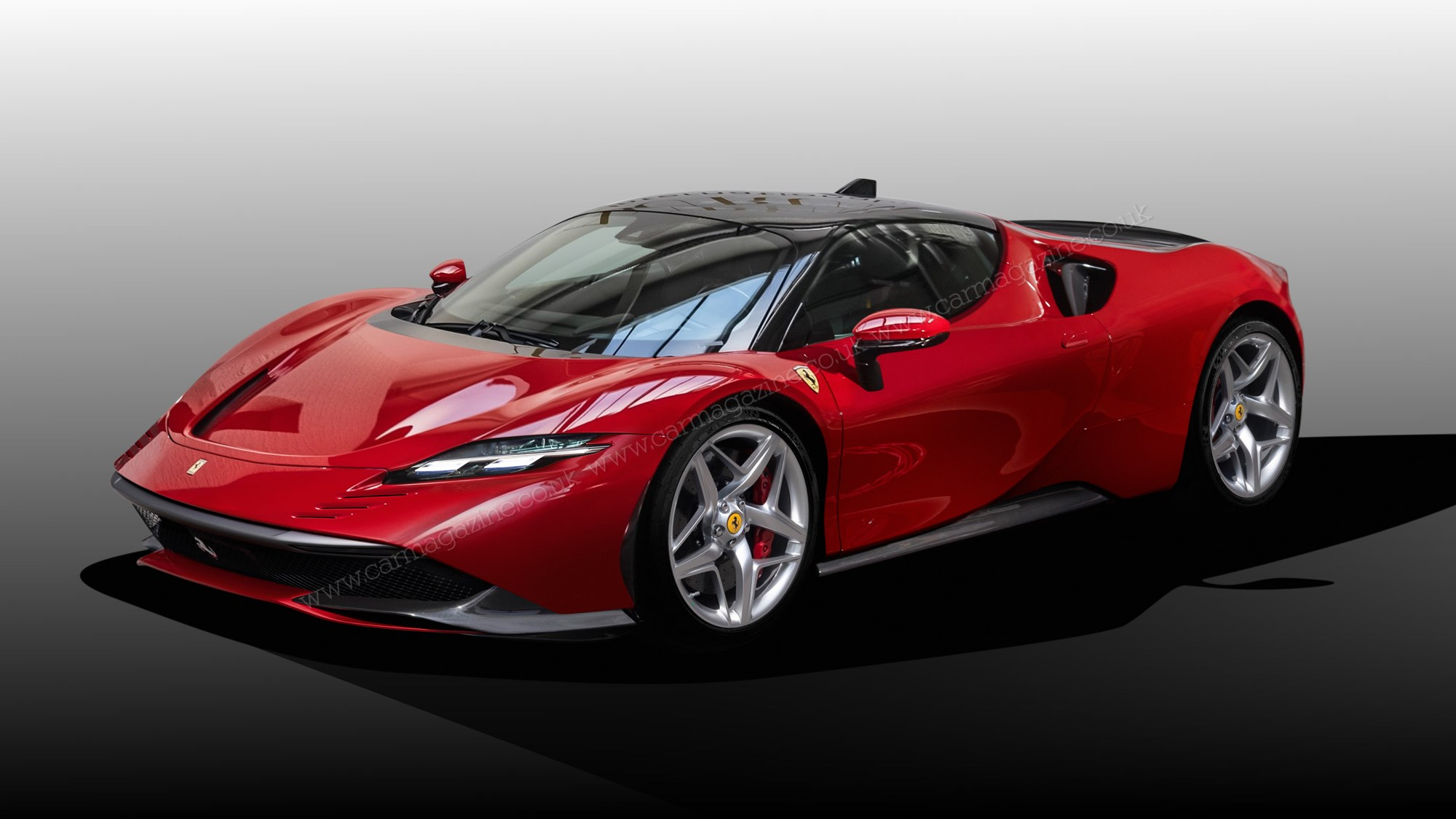 Ferrari F171 Hybrid Supercar Scooped What Would Enzo Say Car Magazine