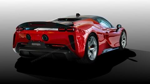 Ferrari V6 hybrid: CAR magazine's exclusive artist's impression