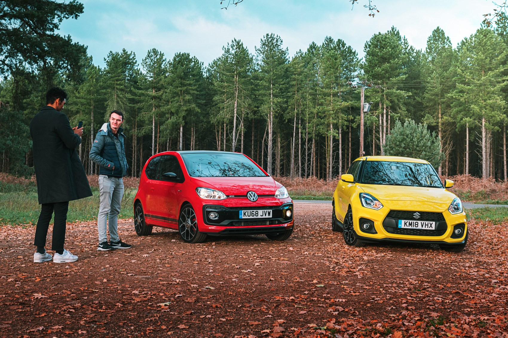 VW Up GTI vs Suzuki Swift Sport (2019) twin test review: who let the pups out?