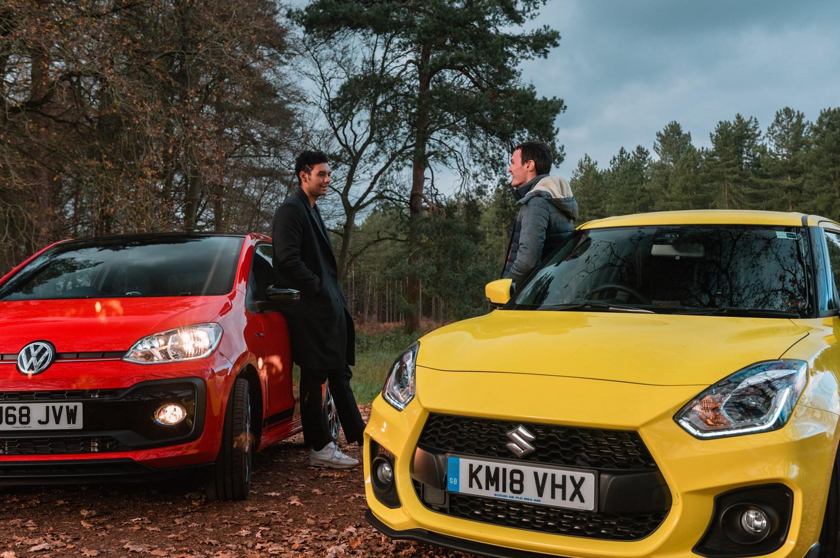 VW Up GTI vs Suzuki Swift Sport (2019) twin test review