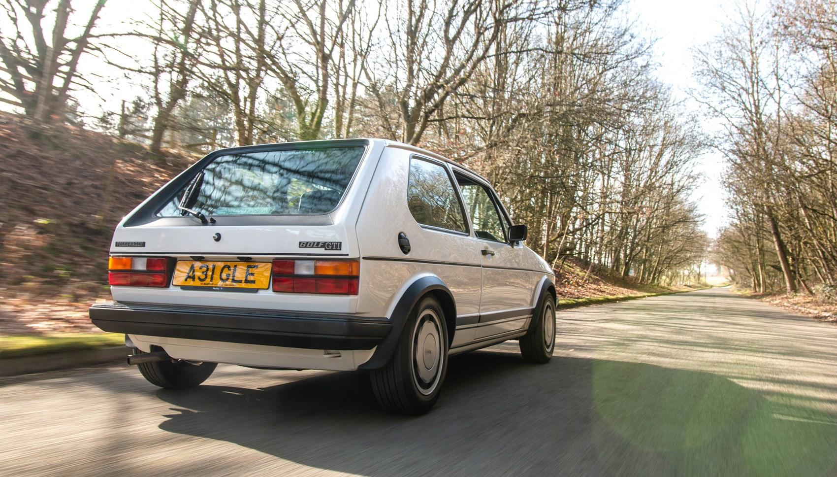 Golf GTI Mk1 rear tracking