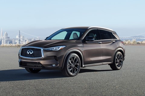 Infiniti Q30 and QX30 will no longer be built in Sunderland