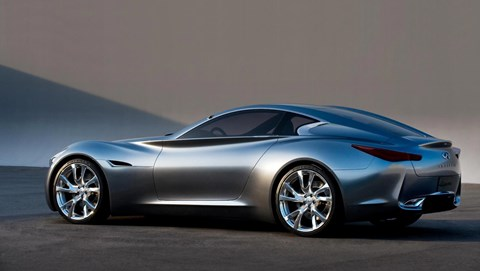 Infiniti Essence concept car: a petrol-electric hybrid