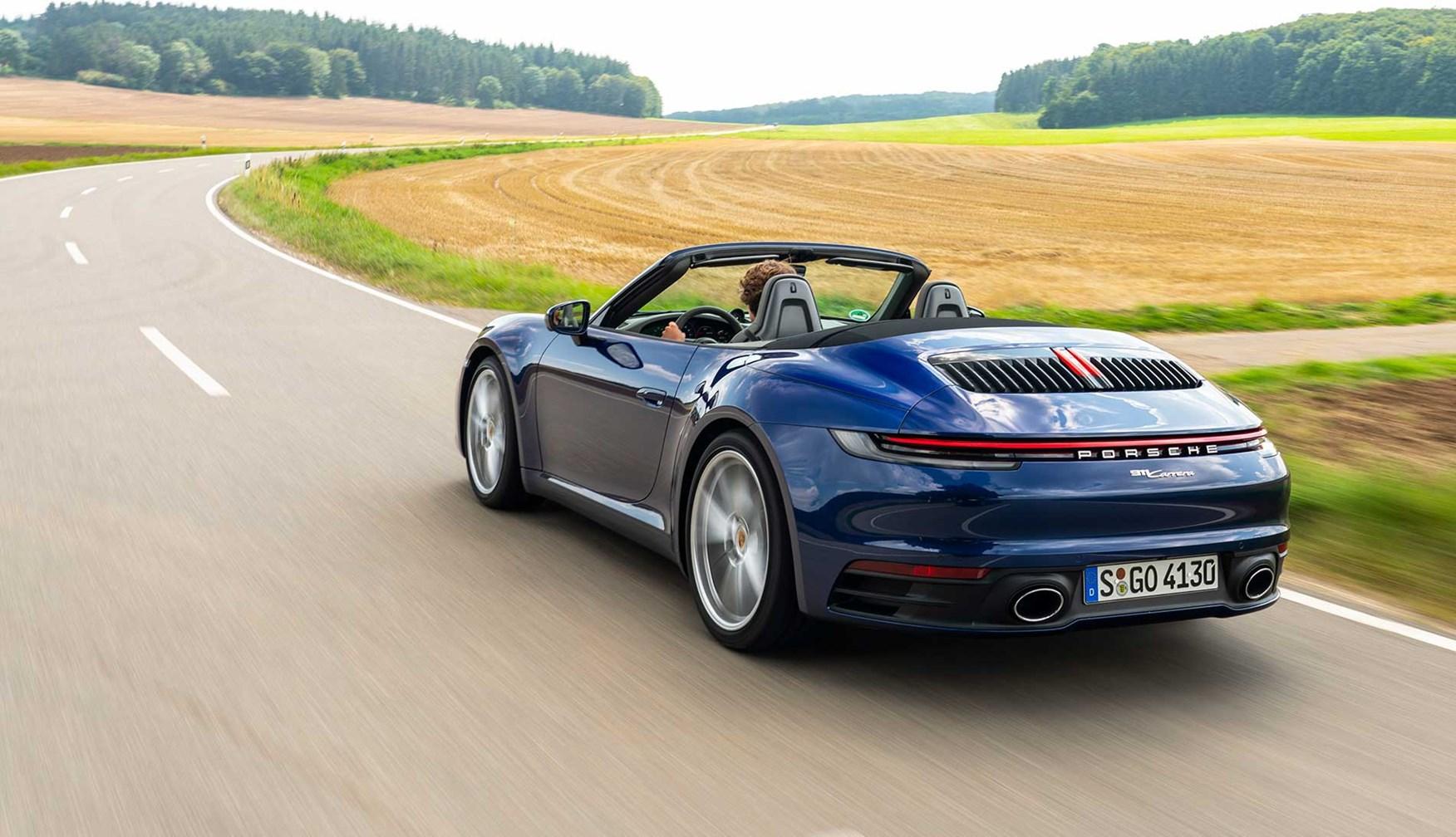 Porsche 911 Carrera Cabriolet And Carrera S Cabriolet Review Car Magazine