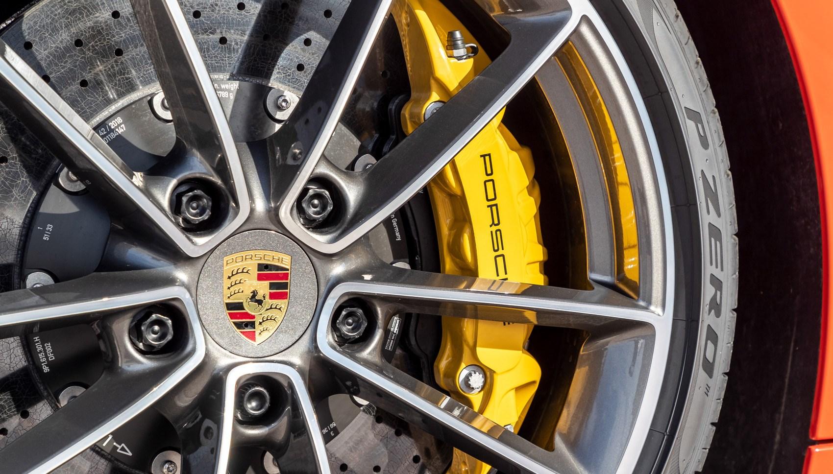 Porsche 911 Cabriolet 992 wheel