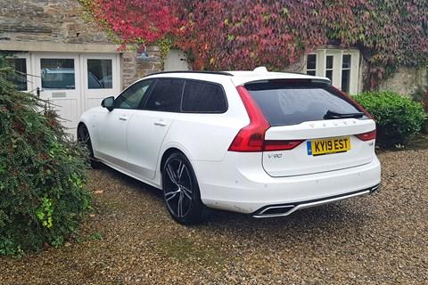 V90 rear parked