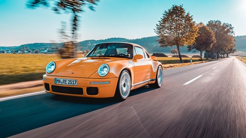 Ruf CTR Yellow Bird prototype review pure, distilled