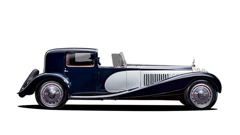 Bugatti Type 41 Royale limousine from 1926