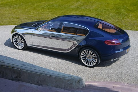 The Bugatti 16C Galibier concept car was shown a decade ago, in September 2009