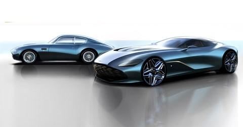 The new 2020 Aston Martin DBS GT Zagato