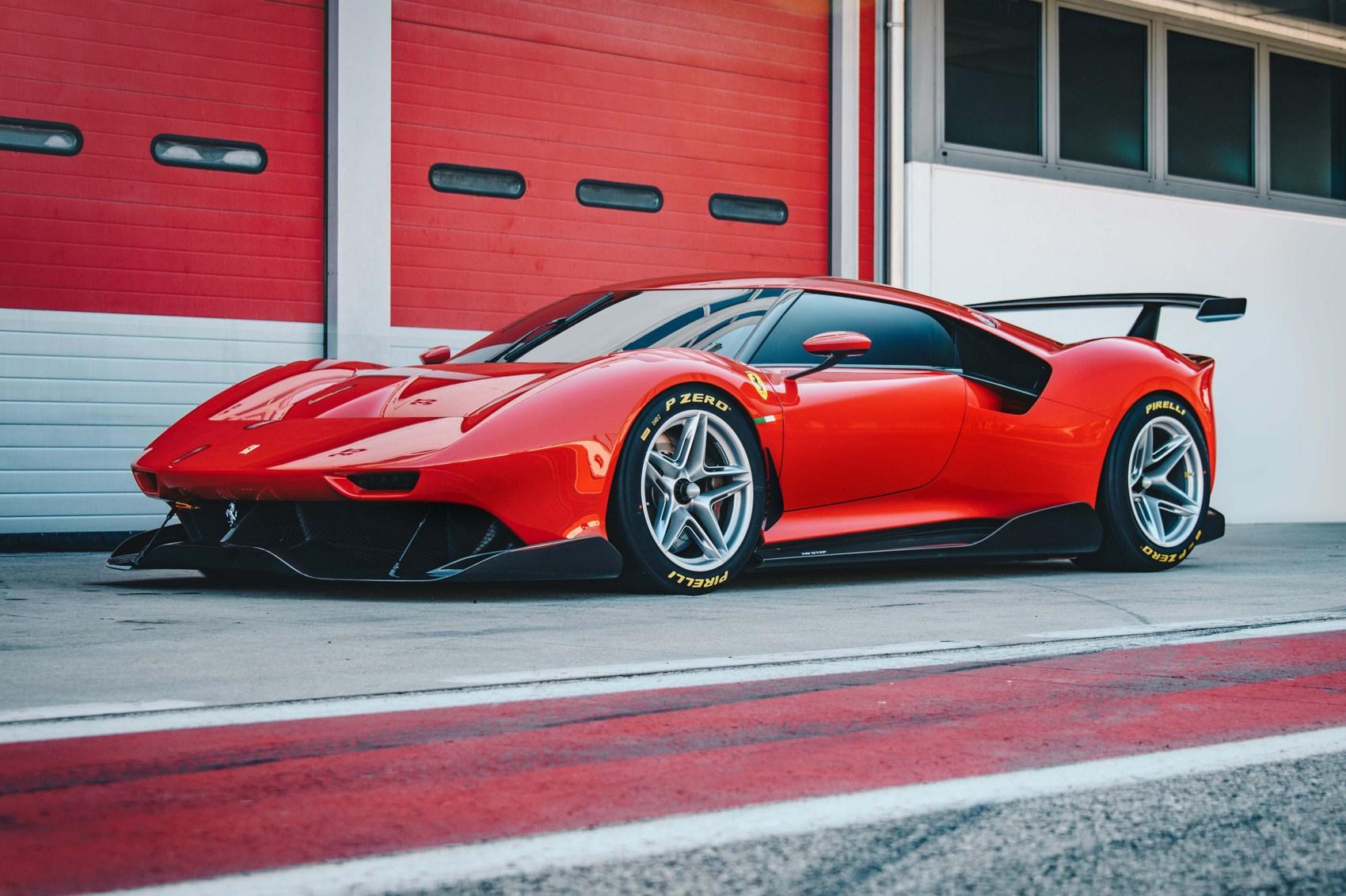Ferrari P80 C Is Extreme Track Ready One Off Car Magazine