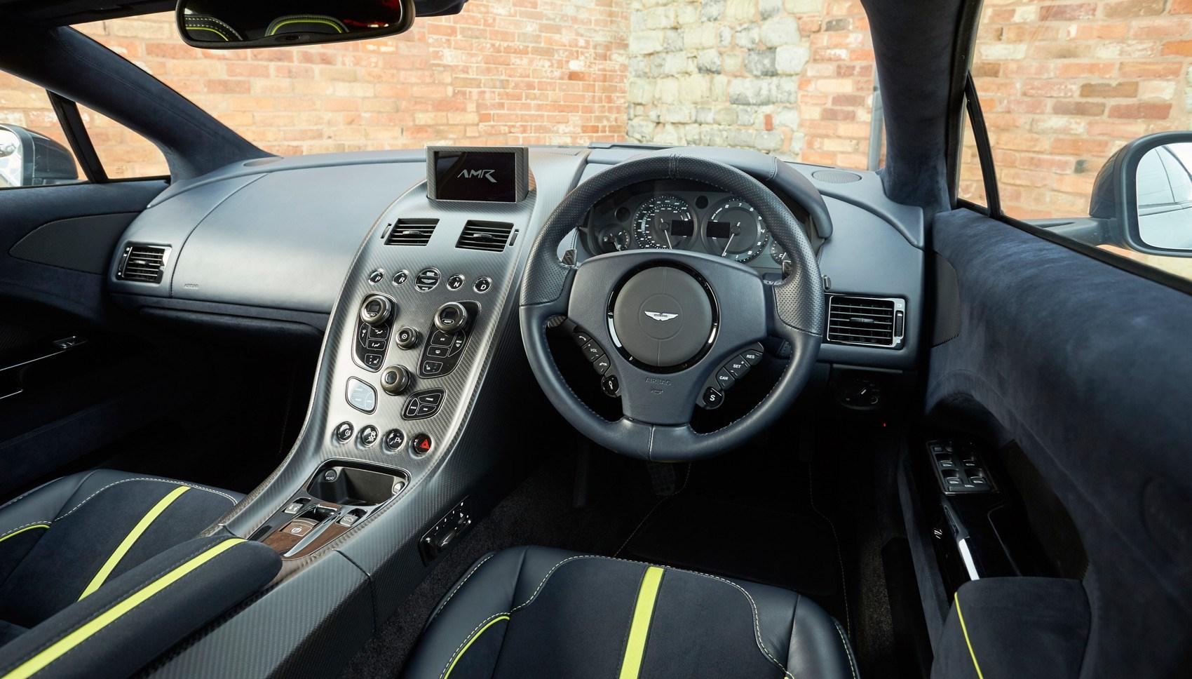 Aston Rapide AMR interior