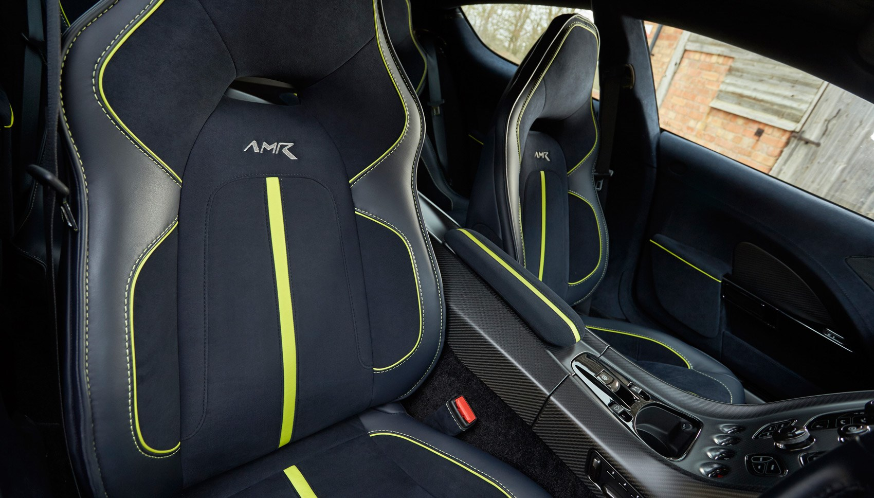 Aston Rapide AMR rear seats