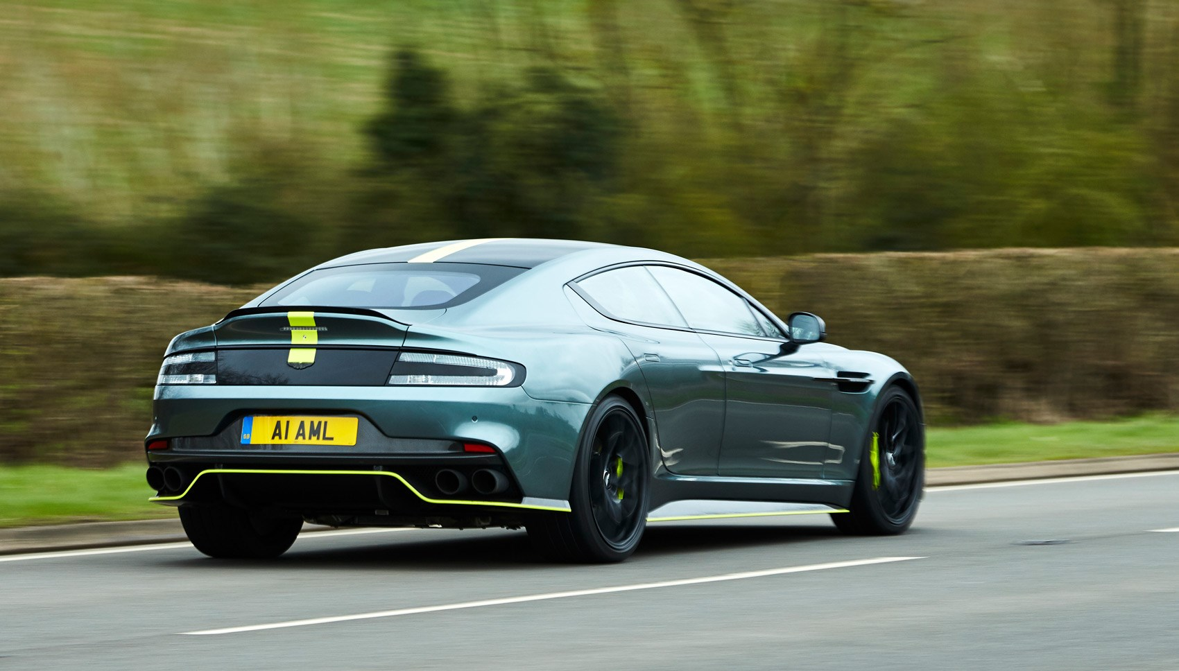 Aston Rapide AMR rear pan