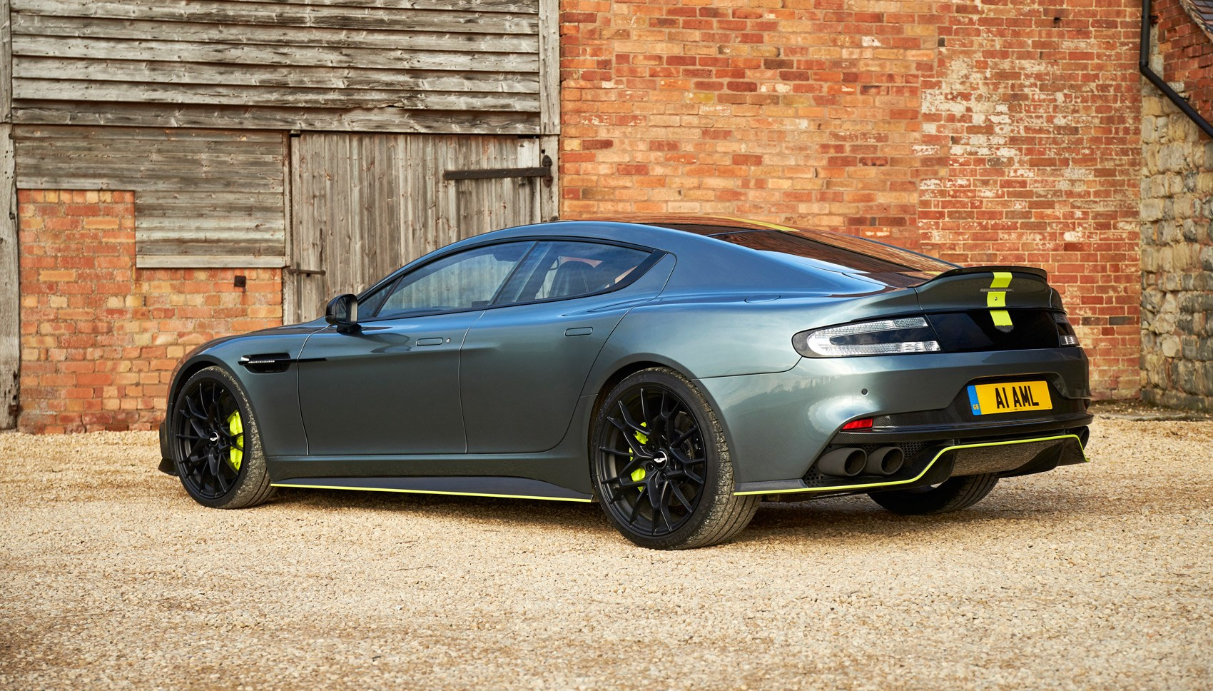 Aston Rapide AMR rear quarter